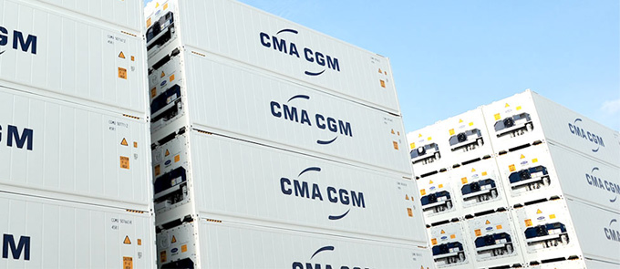 cma cgm reefer containers