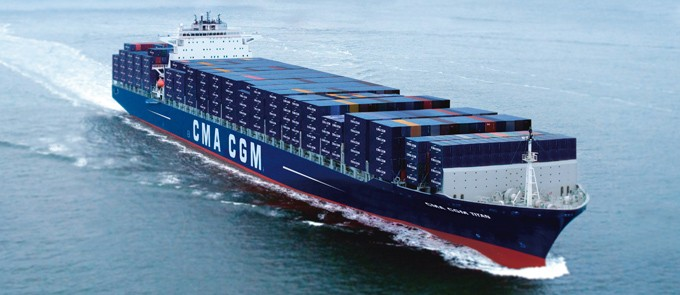 cma cgm titan. Black Bedroom Furniture Sets. Home Design Ideas
