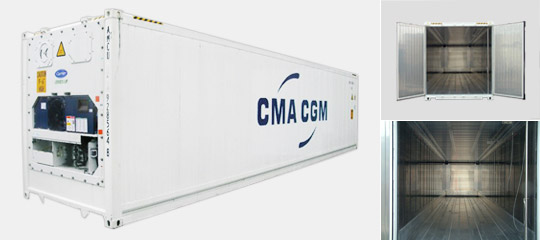 Containers Dry Reefer Open Top Flat Rack Tank Cma Cgm