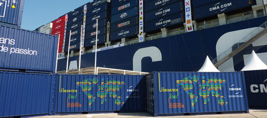 CMA CGM Containers of Hope